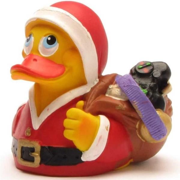Santa Claus Rubber Duckie