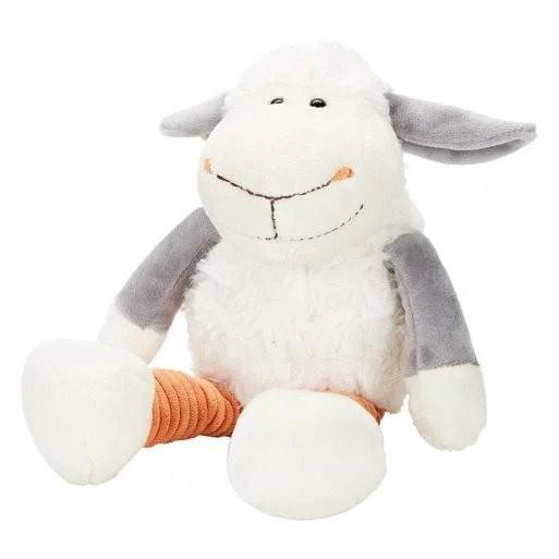 Plüschtier Schaf Elke weiß/orange