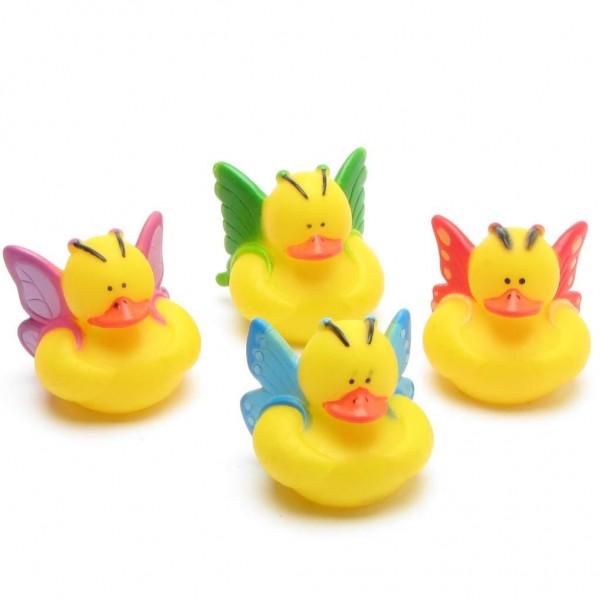 Butterfly Rubber Ducks - Set of 4