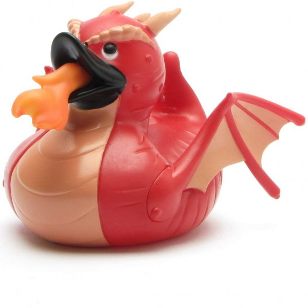 Dragon red Rubber Duck