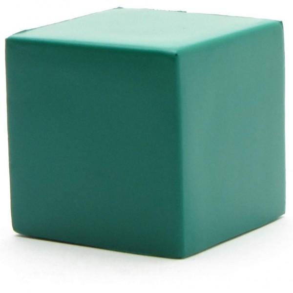 Gekreukt cijfer - kubus - groen