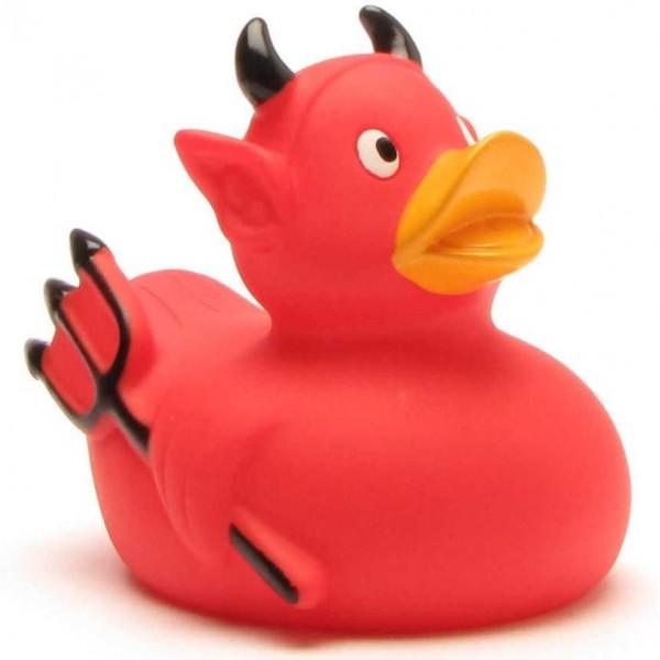 Canard de bain diable