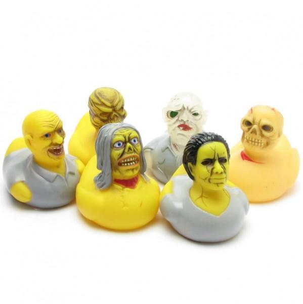 Horror Rubber Ducks Set of 6