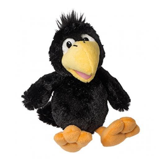 Soft toy raven Karl