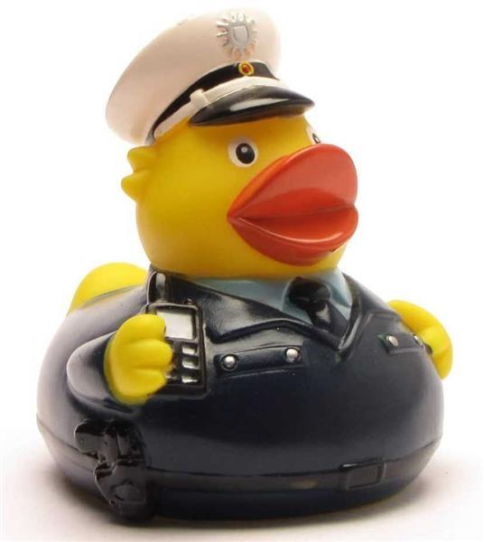Badeend Politieman