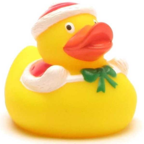 Rubber Duckie Santa Claus 6 cm
