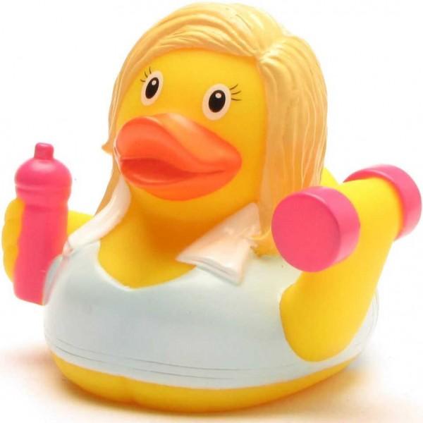 Rubber Ducky Fitness Girl