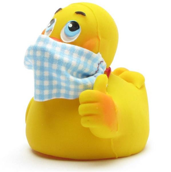 "Rubber Duck ""Stay strong"" - blue"