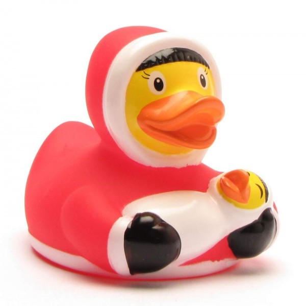 Rubber Ducky Eskimo with baby