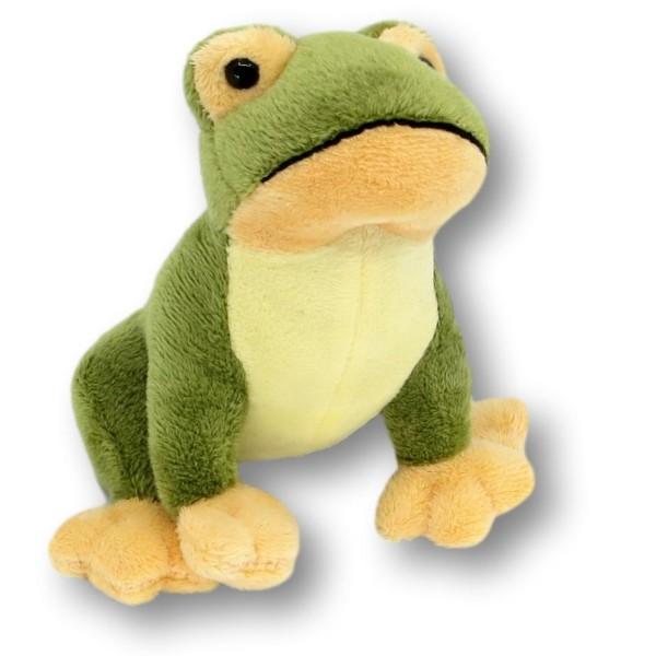 Soft toy frog Toni