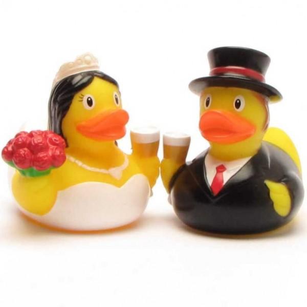 Mini jeunes mariés Canard de Bains