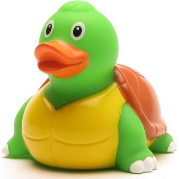 Canard de bain tortue