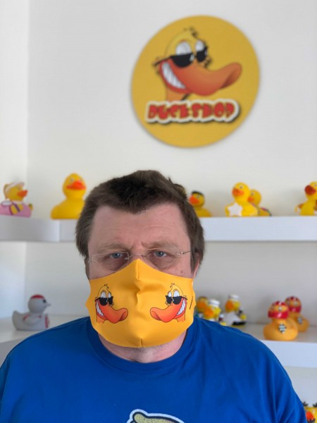 Duckfried - Mund-Nase-Schutz - Kindergröße