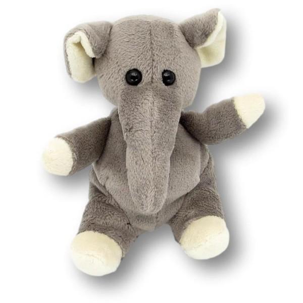 Plüschtier Elefant Wolle