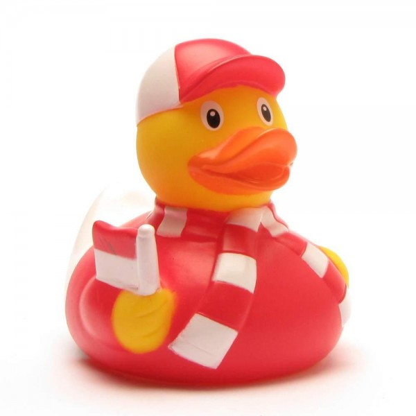 Rubber Duck football fan