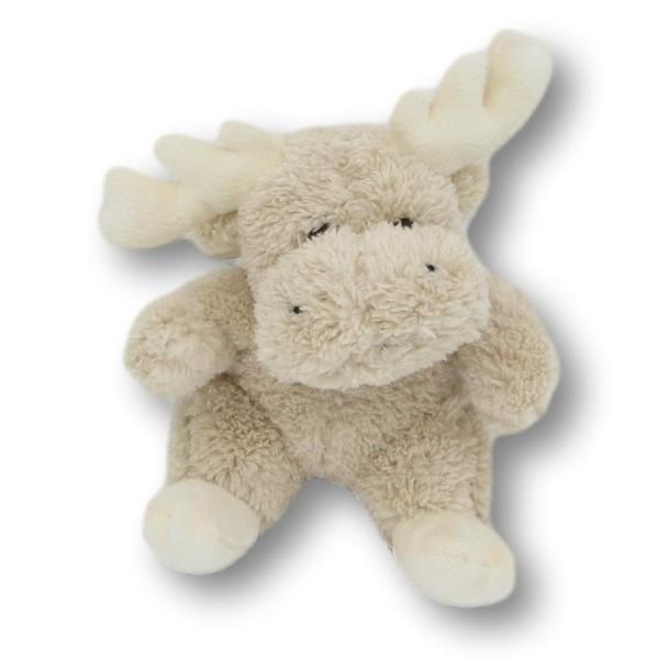 Soft toy moose Carlotta cream
