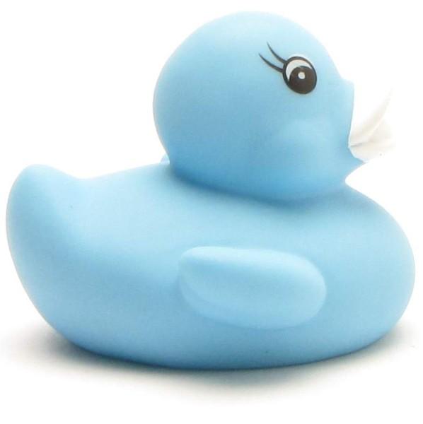 Badeend Muriel blauw - 5,5 cm