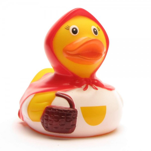 Red Riding Hood Rubber Duckie