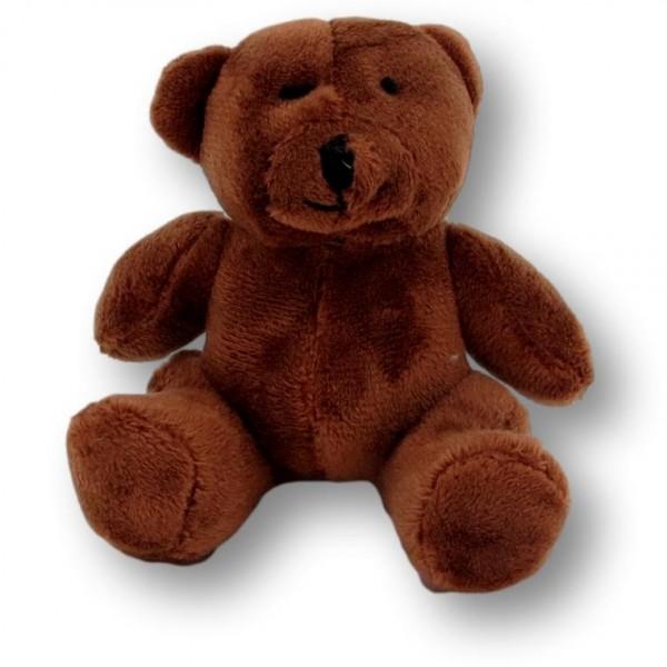 soft toy bear Andrea dark brown