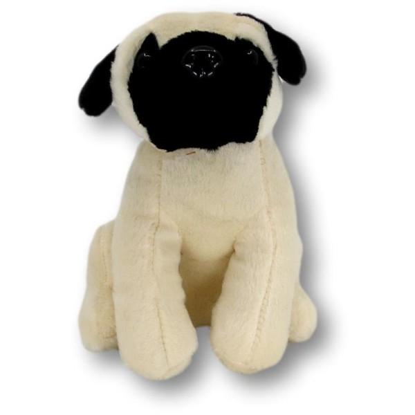 Pug Birgit soft toy