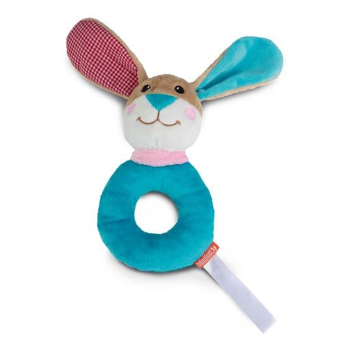 Rabbit with rattle