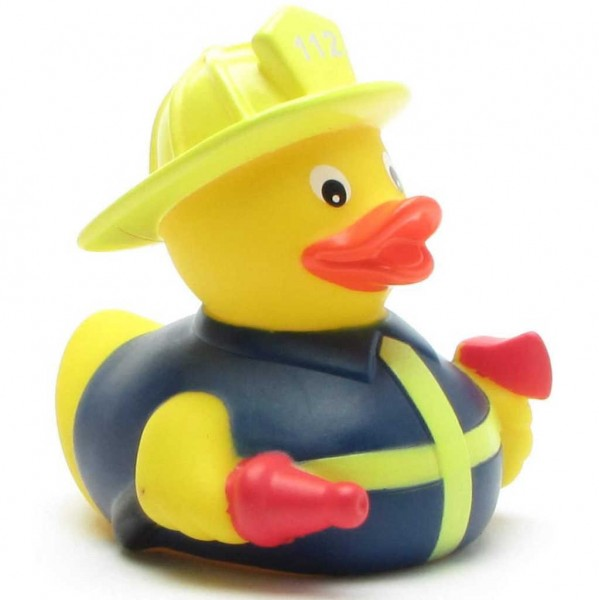 Feuerwehrmann Quietscheente