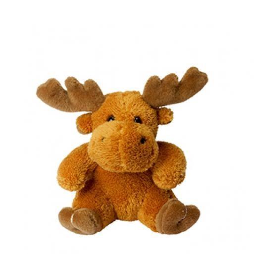 soft toy moose Caro brown