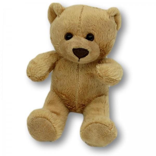 Soft toy bear Sören beige