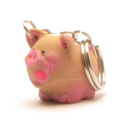 Lanco Mini Pig Keychain