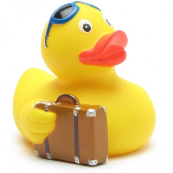 Canard en caoutchouc voyageur