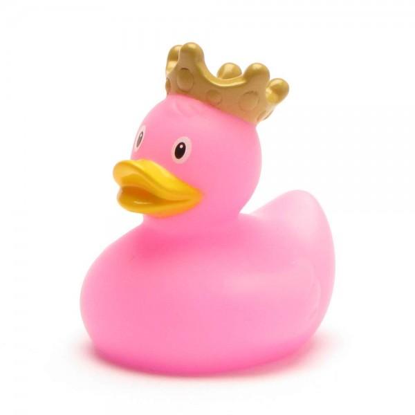Mini-Badeente König - pink