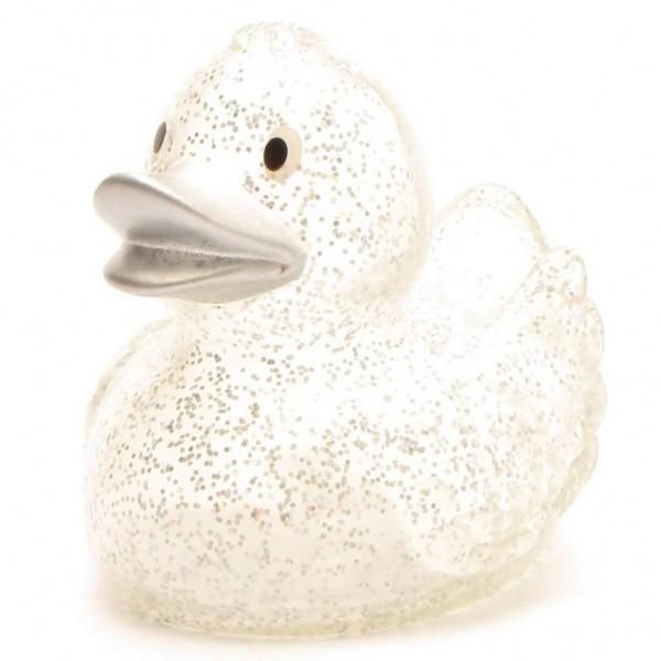 Rubber Duck Britta - Glitter with silver beak