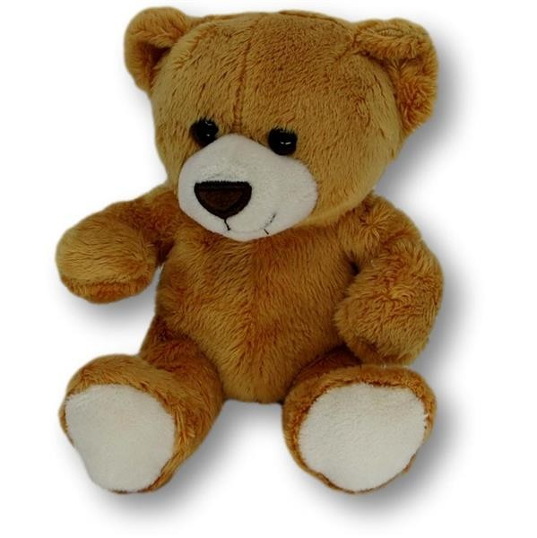 soft toy bear Märthe brown