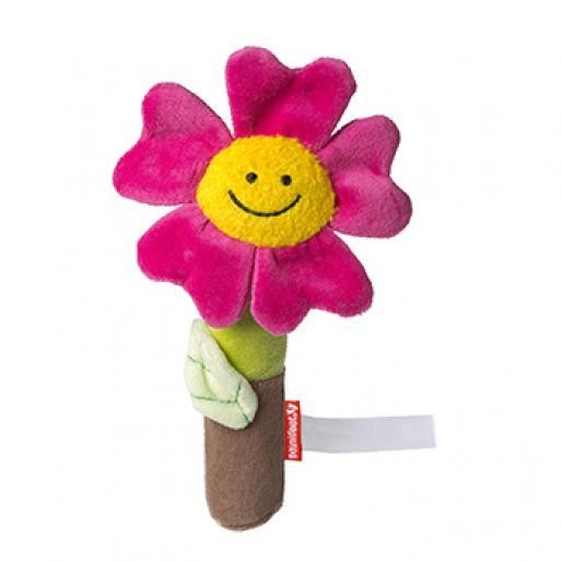 Gripper flower with squeaking function