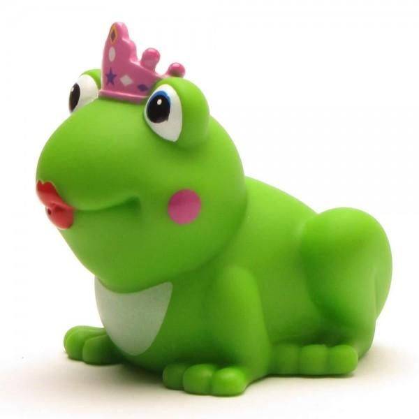 Froschkönigin mit pinkem Krönchen