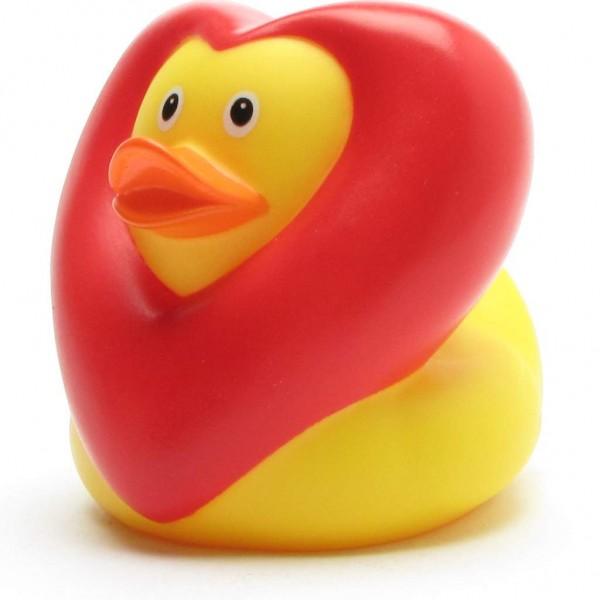 Badeente Herz