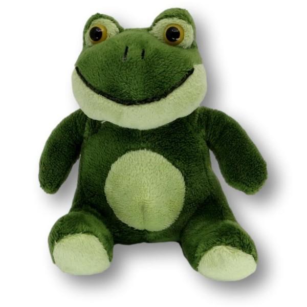 Soft toy frog Hans