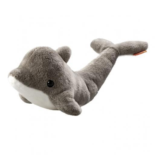 stuffed animal dolphin Lars