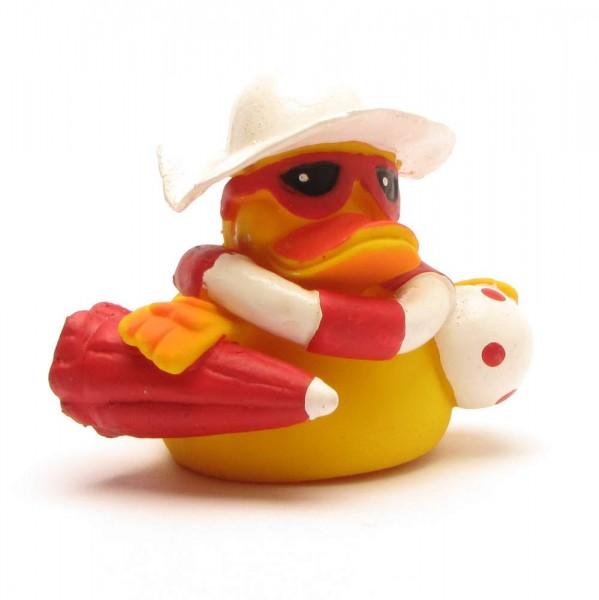 Quietscheente Beach Duck