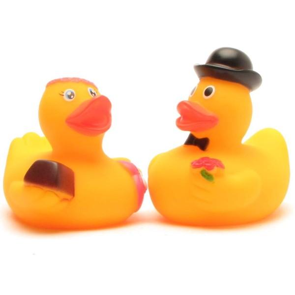 Rubber Ducks bridal couple Mio & Mia