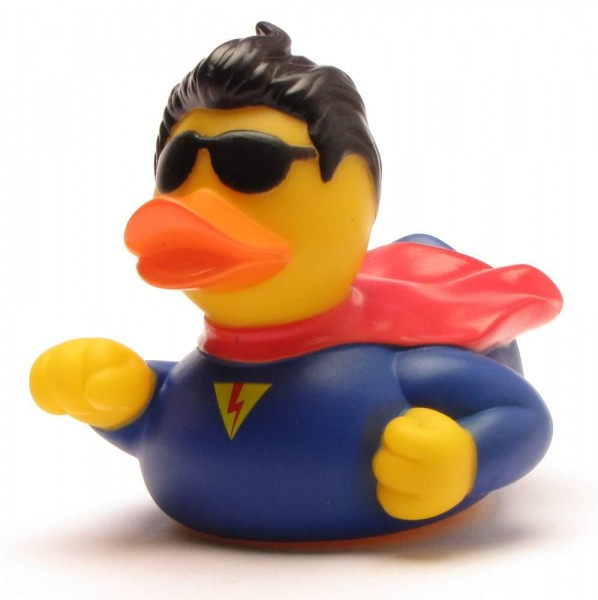 Superhero Rubber Duck