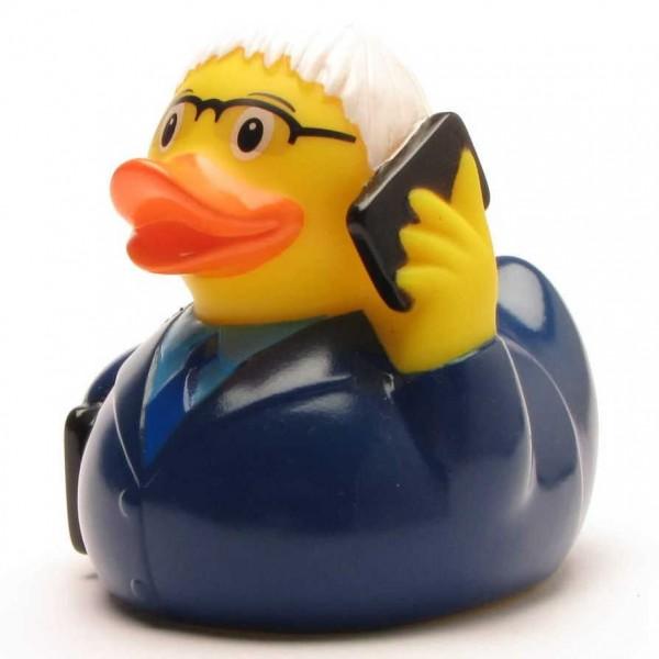 Business garçon Canard de bain