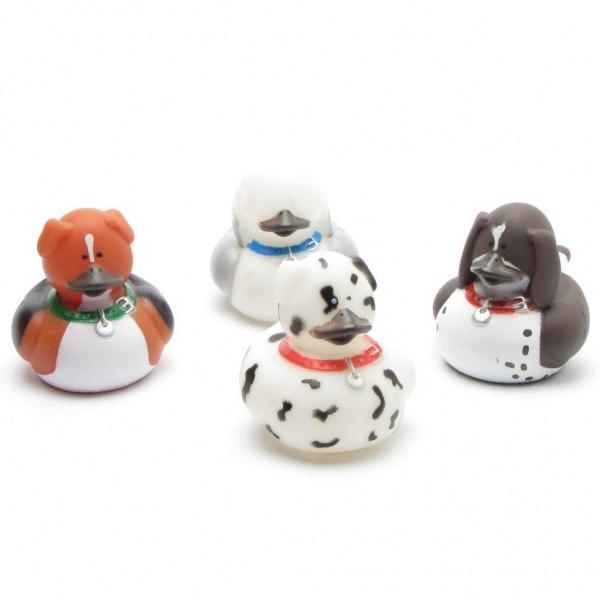Hunde Badeenten - 4er Set