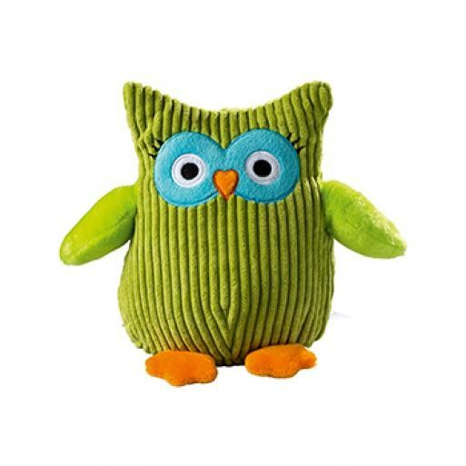 Soft toy owl green