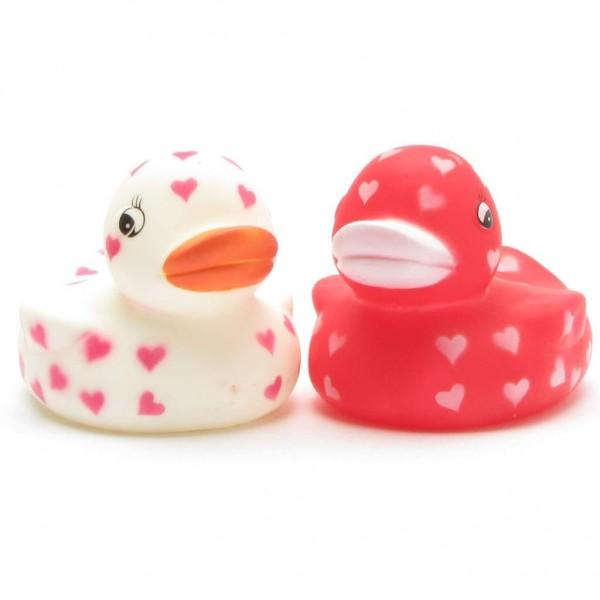 Sweethearts Rubber Ducks Set of 2