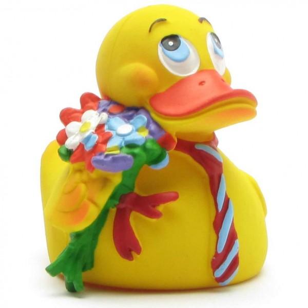 Quietscheentchen Flower Duck
