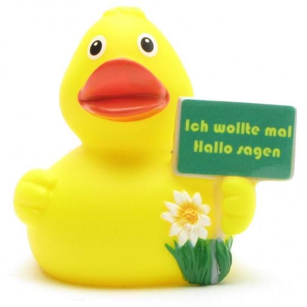 """Rubber Duck """"Ich wollte mal Hallo sagen"""""""