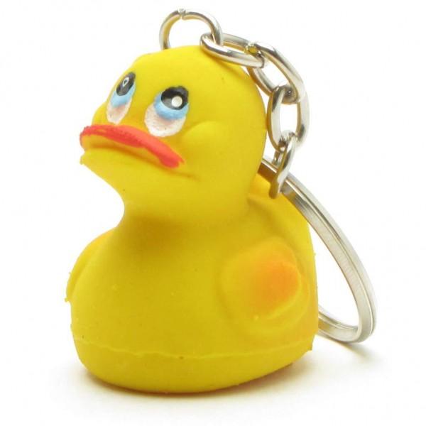 Rubber Ducky Duck Keychain