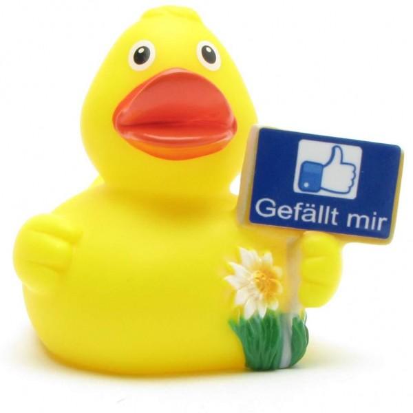 """Rubber Duck """"Gefällt mir"""""""