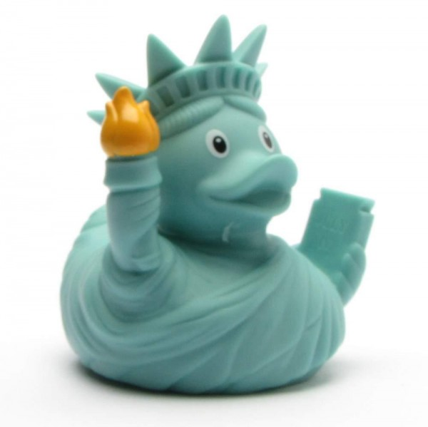 Canard de bain Lady Liberty